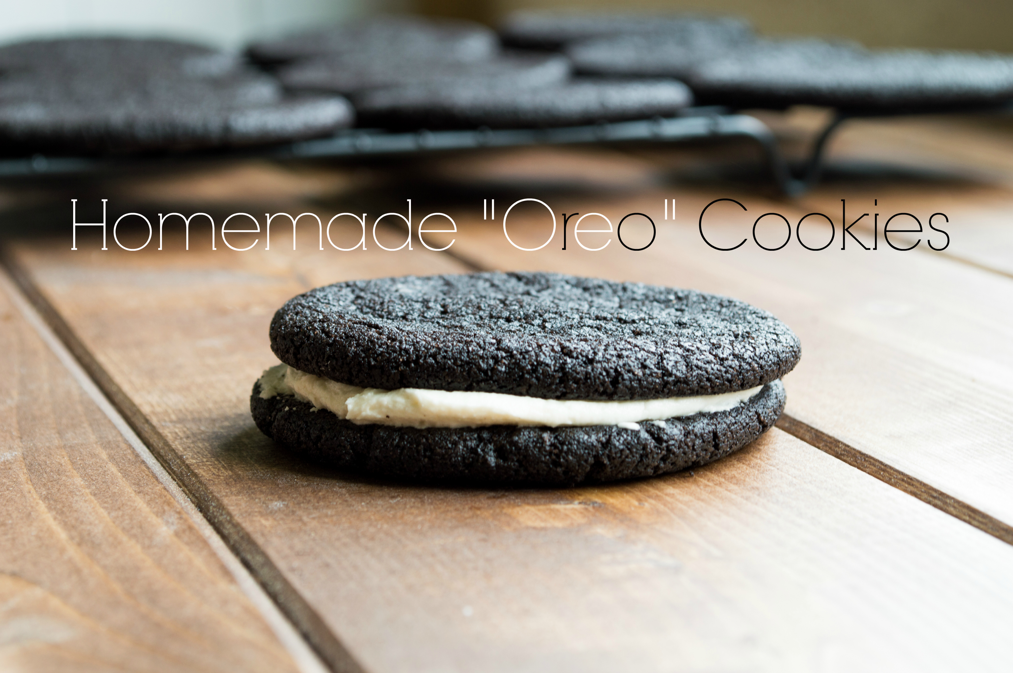 Homemade Oreo Cookies | A Bite of Becky