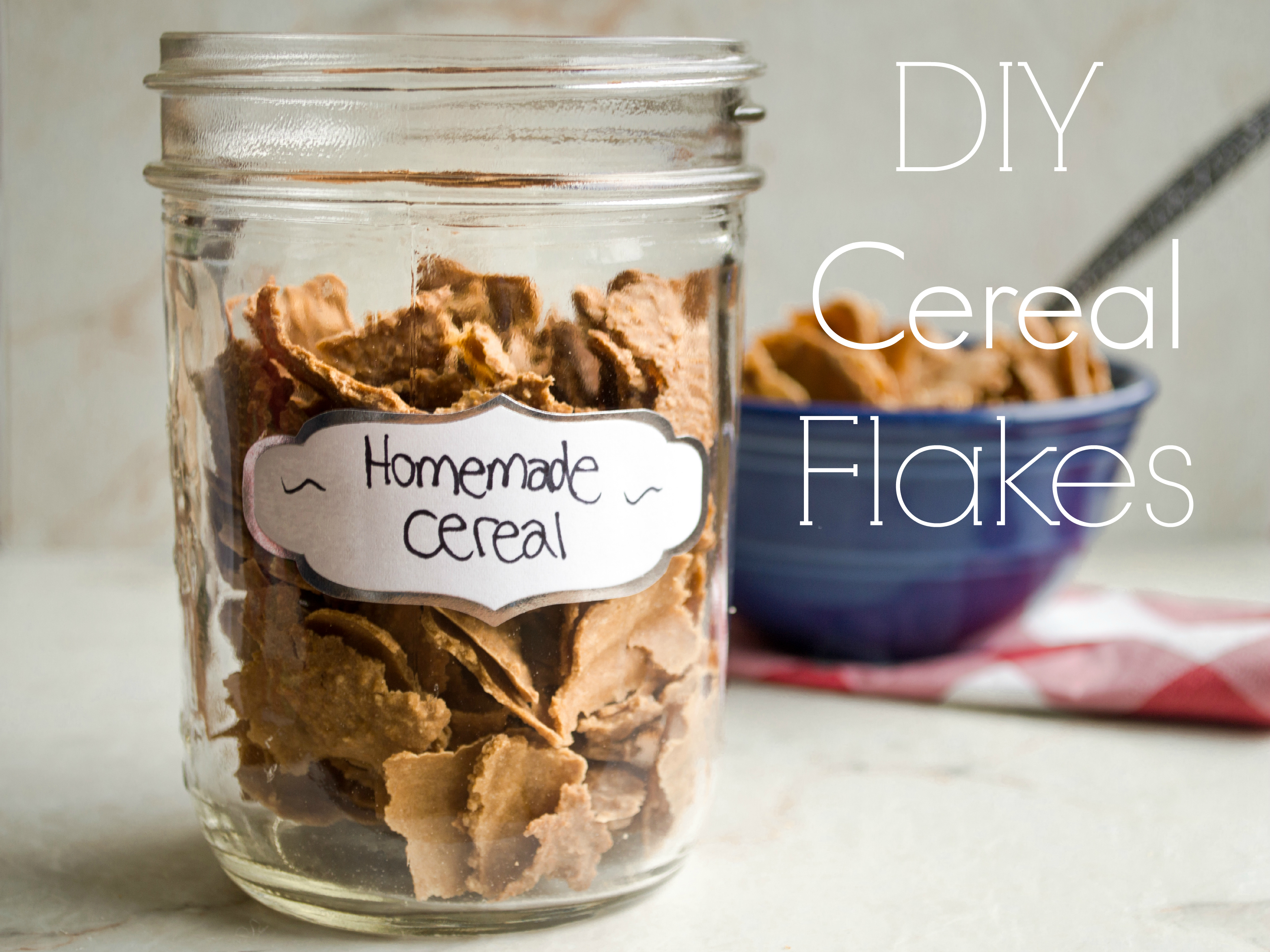 Homemade oatmeal flake cereal trader joes copycat a bite of becky have you ever tried making your own cereal at home leave a comment if you have an idea for a breakfast cereal i should try to diy ccuart Gallery